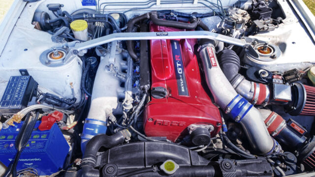 RB26 With APEXi AX53B60 TWIN TURBO.