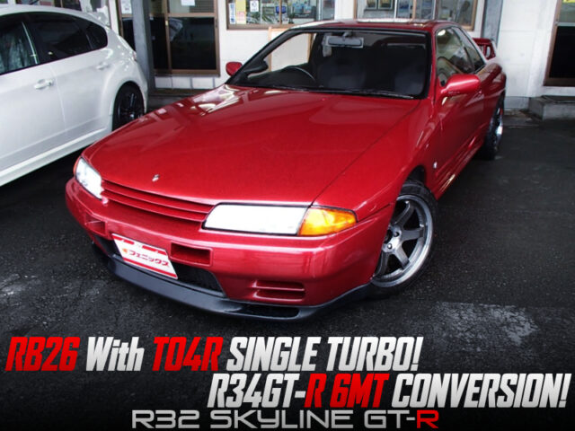 RB26 With TO4R TURBO and 6MT into R32 GT-R.