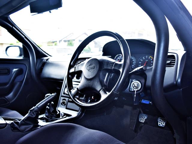 DASHBOARD of R33 GTR.