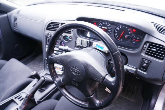 DASHBOARD OF R33 GT-R SEDAN AUTECH 40th.