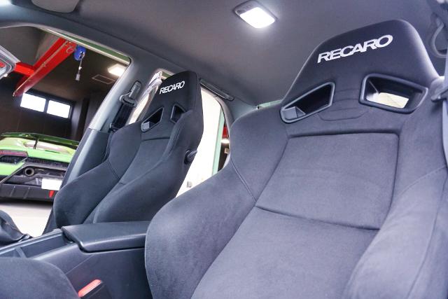 SEATS OF R33 GT-R SEDAN AUTECH 40th.