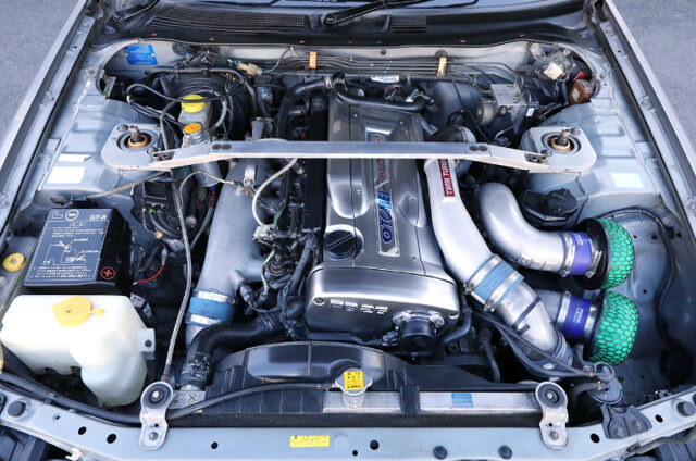 RB26DETT with TOMEI TWIN TURBO.