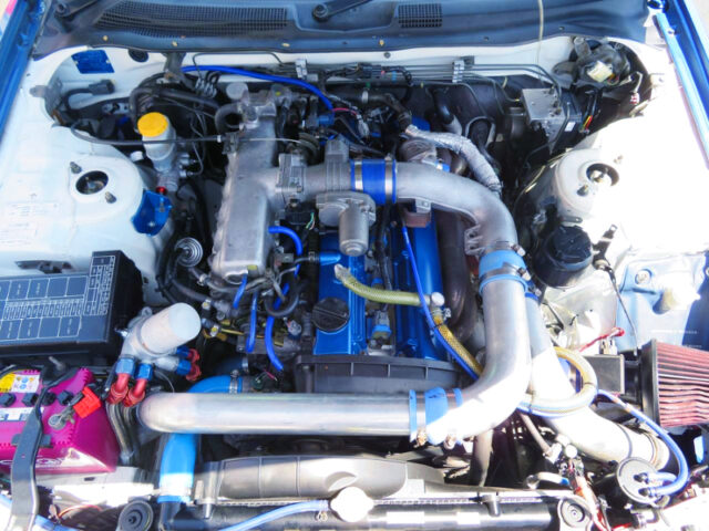 RB25DET TURBO ENGINE with GT2510 TURBO.