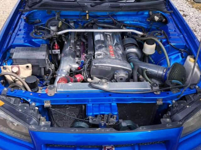RB26 BIG SINGLE TURBO ENGINE.