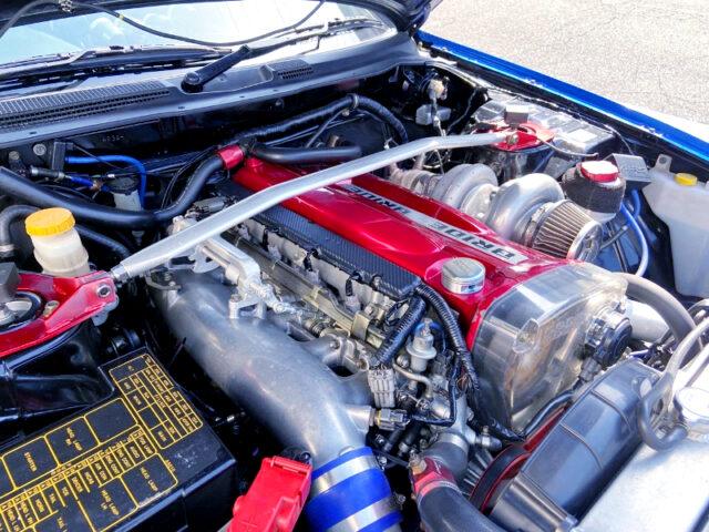 RB26 2.7L SINGLE TURBO ENGINE.