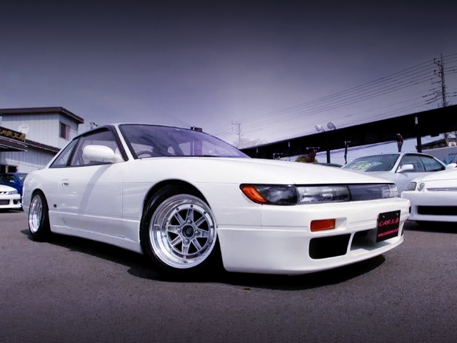 FRONT EXTERIOR OF S13 SILVIA Ks.