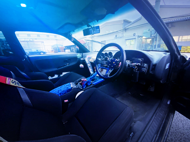 INTERIOR OF S13 SILVIA Qs.