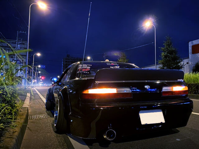 REAR EXTERIOR OF S13 SILVIA Qs.