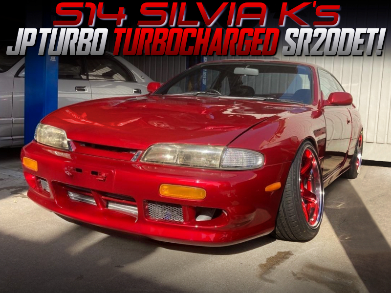 JP TURBO TURBOCHARGED S14 ZENKI SILVIA Ks.