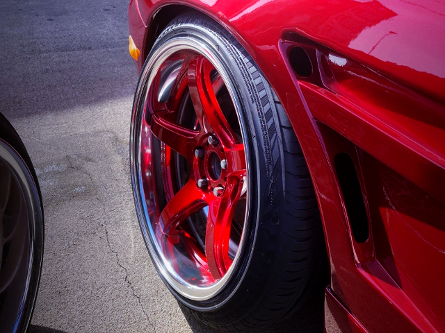 FRONT ALUM WHEEL with CAMBER.