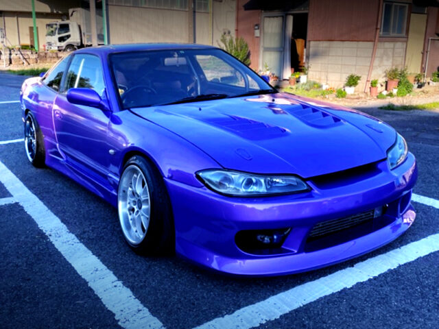 FRONT EXTERIOR OF 180SX.