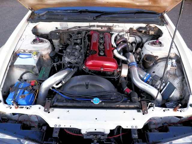 SR20DET REDTOP ENGINE.