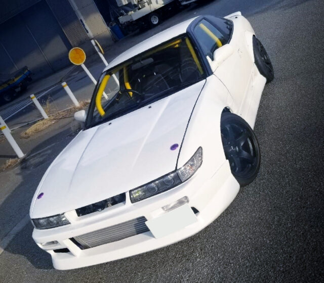 FRONT EXTERIOR OF RPS13 SILEIGHTY WIDEBODY.