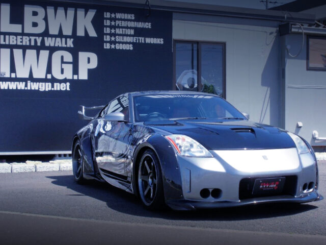 FRONT EXTERIOR OF Z33 FAIRLADY Z Ver T.