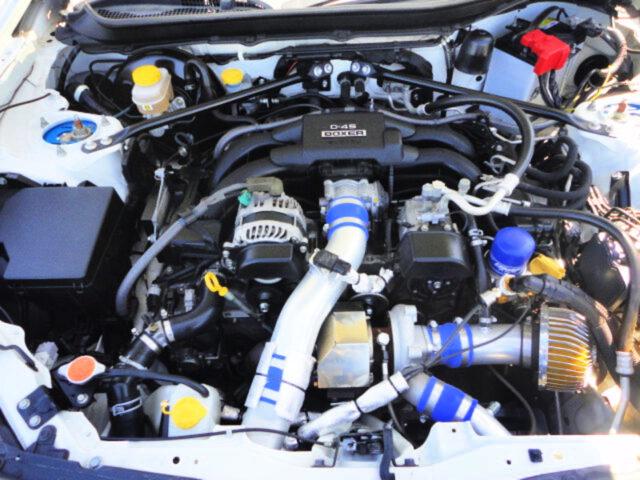 GREDDY T518Z TURBOCHARGED FA20 ENGINE.