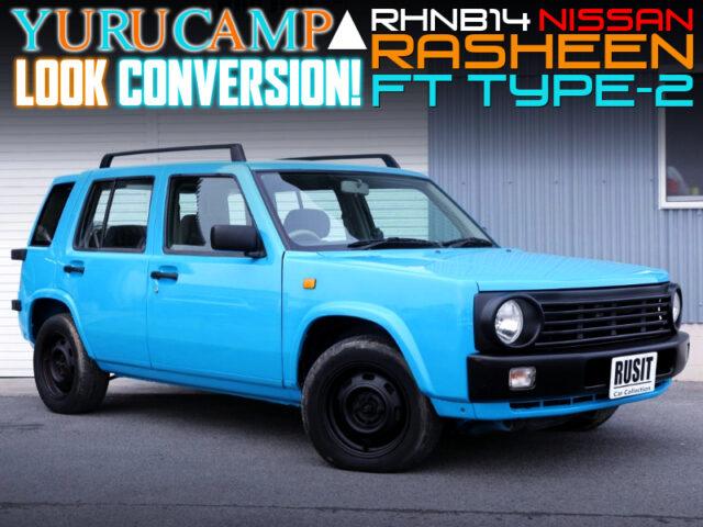 RHNB14 RASHEEN FT TYPE-2 With YURUCAMP LOOK CONVERSION.
