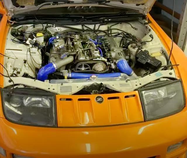 2JZ-GTE TWINTURBO ENGINE INTO Z32.