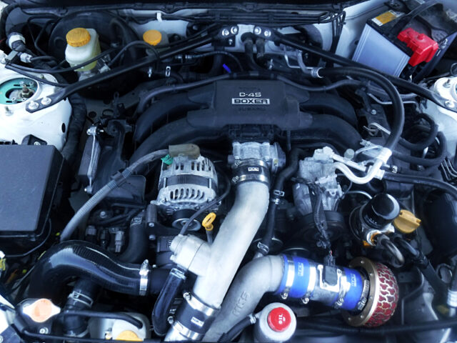 FA20 BOXER ENGINE with HKS SUPERCHARGER.