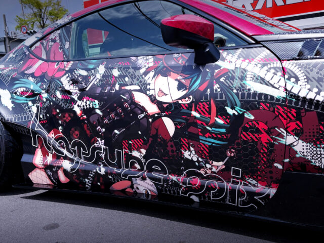 HATSUNE MIKU WARAPPED RIGHT SIDE EXTERIOR.