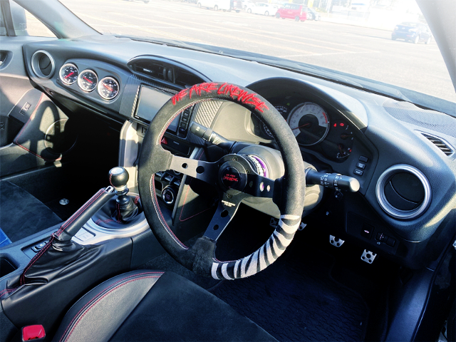 DASHBOARD OF ZN6 TOYOTA 86GT LIMITED
