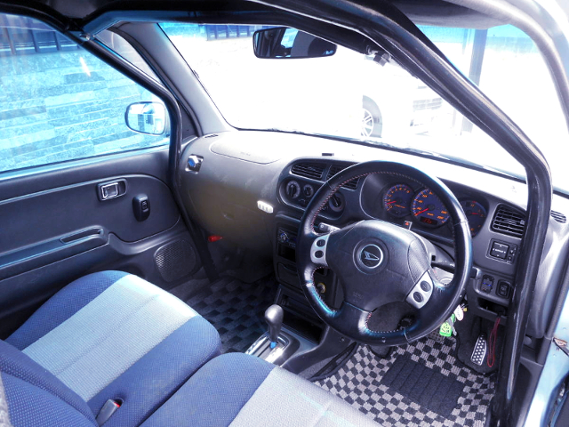 DASHBOARD and ROLL CAGE.