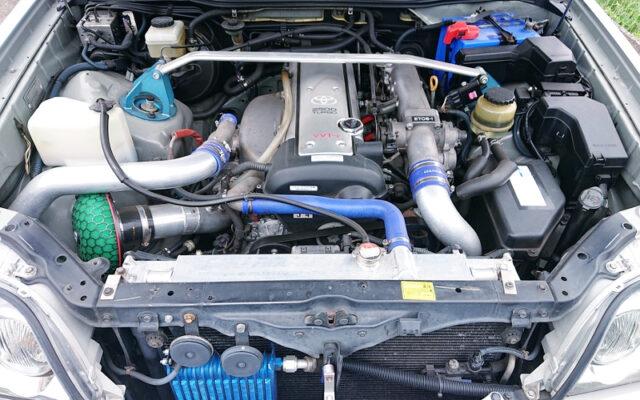 VVT-i 1JZ-GTE TURBO ENGINE with HKS GT3-RS TURBINE.