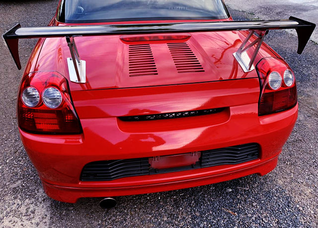 REAR TAIL LIGHT and GT-WING.