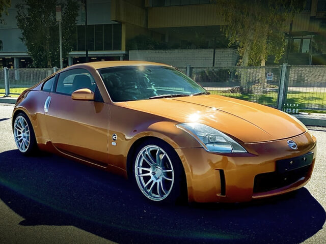 FRONT EXTERIOR OF Z33 NISSAN 350Z.