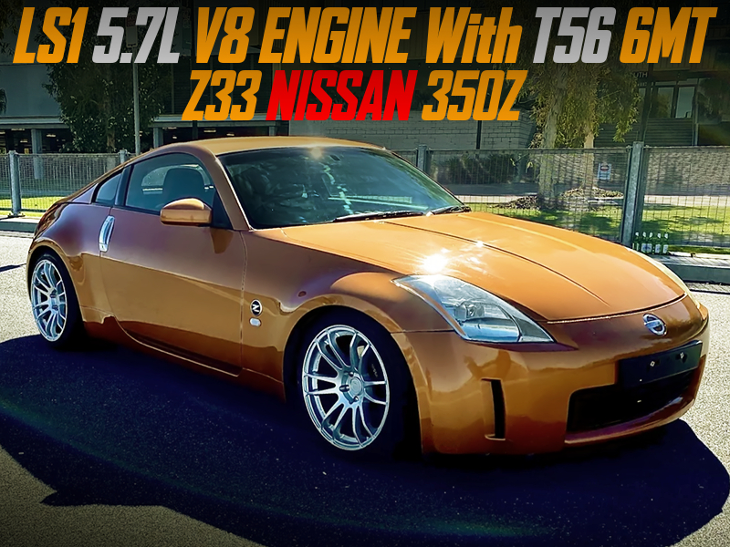 LS1 5.7L V8 and T56 6MT SWAPPED Z33 350Z.
