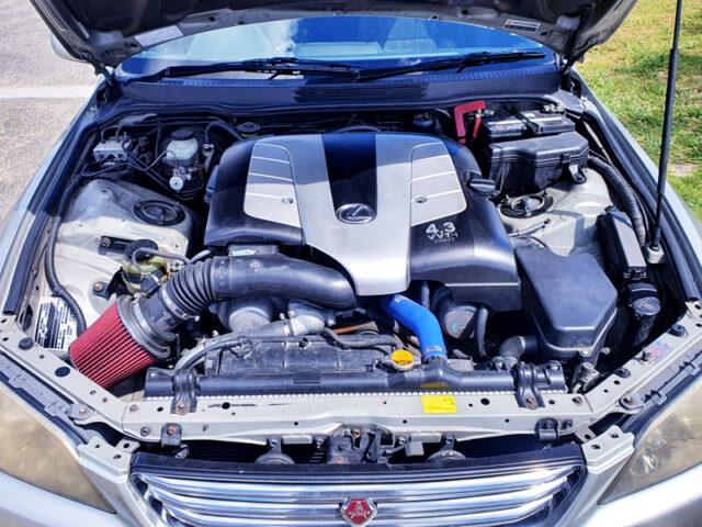 3UZ-FE 4.3L V8 ENGINE.