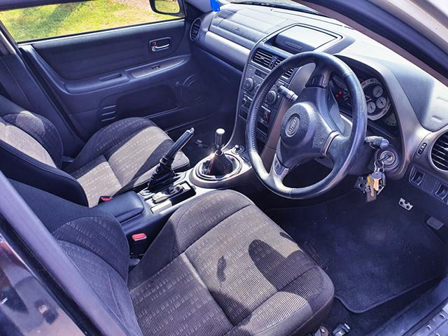 INTERIOR OF ALTEZZA RS200.