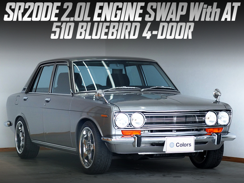 SR20DE ENGINE and AUTOMATIC SWAPPED 3rd Gen 510 BLUEBIRD 4-DOOR.