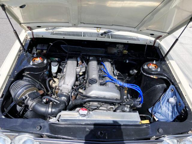 SR20DE 2-Liter ENGINE.