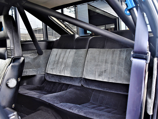 ROLL BAR and BACKSEAT.