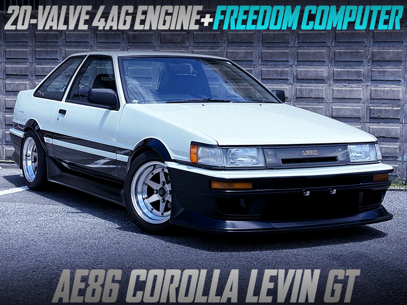 20V 4AG SWAPPED AE86 LEVIN GT.