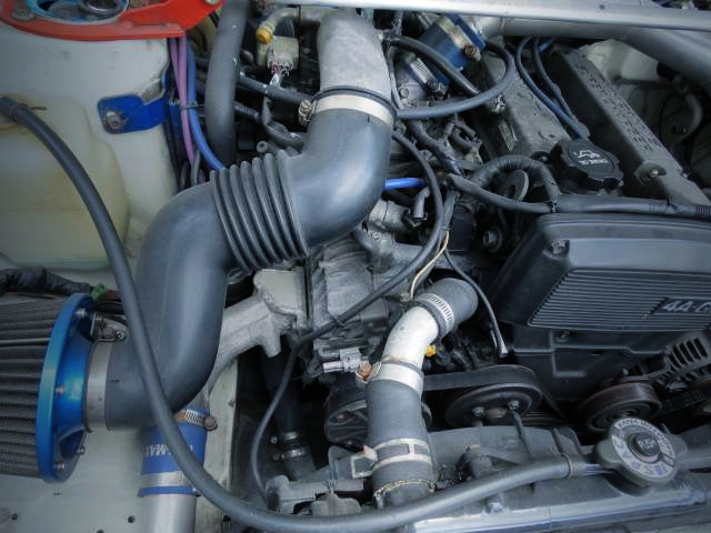 SUPERCHARGER on 4A-GZE.