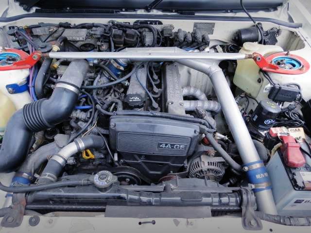 4A-GEZ SUPERCHARGER ENGINE.