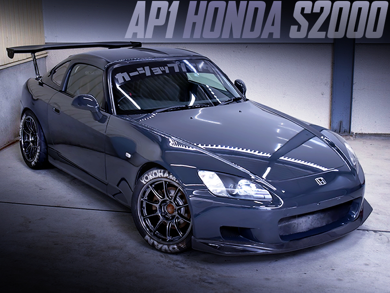 TRACK STANCE MODIFIED AP1 S2000.