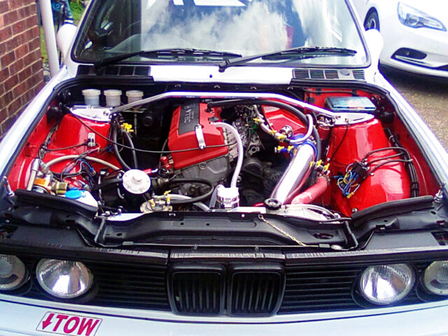 F20C VTEC ENGINE with ITBs.