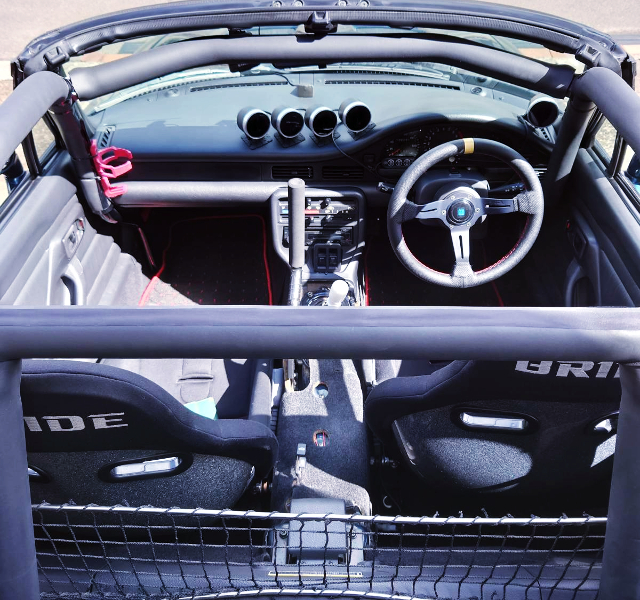 ROLL CAGE INSTALLED EA21R CAPPUCCINO.
