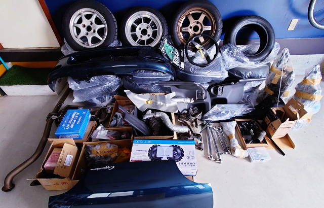 GENUINE PARTS and AFTERMARKET PARTS.
