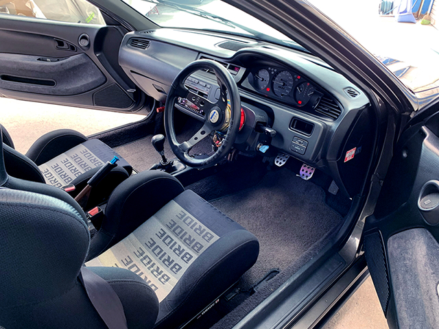 DASHBOARD OF EJ1 CIVIC COUPE.