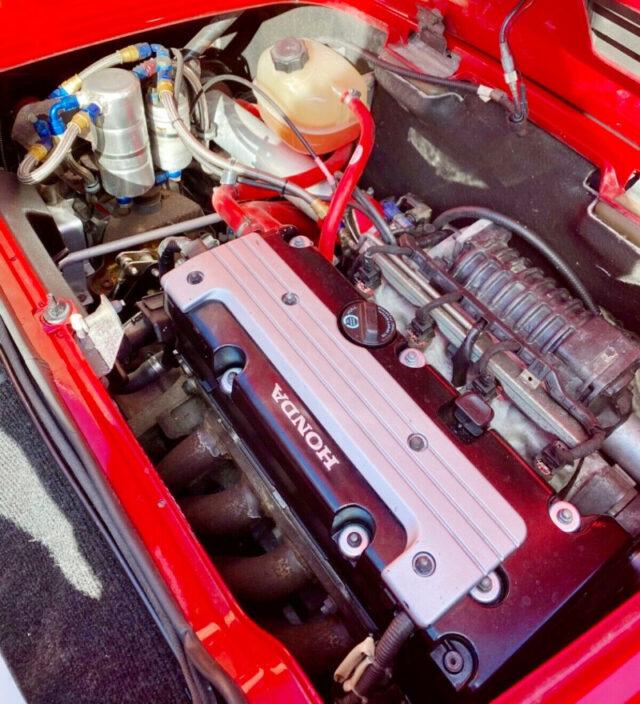 K20 i-VTEC ENGINE with JACKSON SUPERCHARGER.