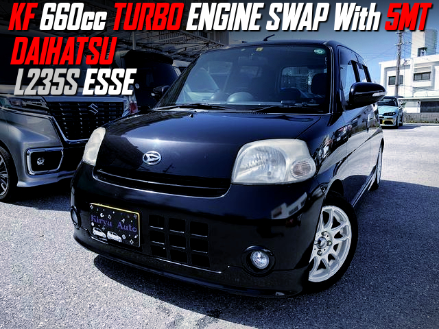 KF 660cc TURBO ENGINE SWAP With 5MT into L235S ESSE.