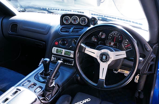 DASHBOARD OF FD3S RX7 TYPE RS.