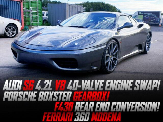 AUDI S6 4.2L V8 40-VALVE SWAPPED FERRARI 360 MODENA.