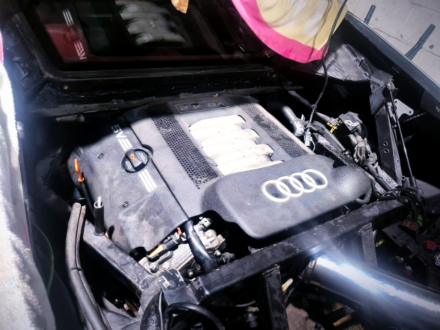 AUDI V8 INSTALLED OF 360 MODENA.