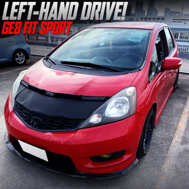 LEFT HAND DRIVE IMPORT OF GE8 FIT SPORT
