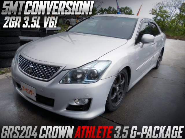 GRS204 CROWN ATHLETE to 5MT CONVERSION.