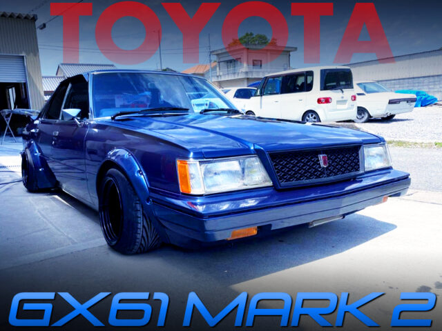 WIDE FLARES INSTALLED GX61 MARK2 BLUE.